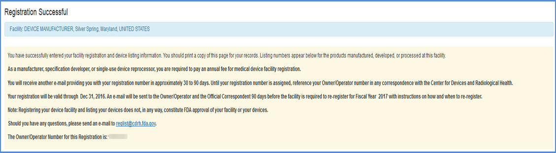 Register a New Medical Device Facility: Step-by-Step